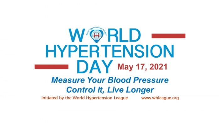 May Measuring Month /World Hypertension Day 2021