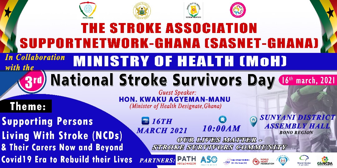 3rd National Stroke Survivors Day 16th March 2021